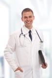 Knappe jonge arts Stock Fotografie