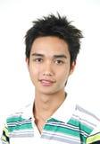 Knappe jonge Aziatische kerel Royalty-vrije Stock Afbeeldingen