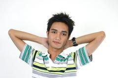 Knappe jonge Aziatische kerel 5 Stock Fotografie