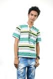 Knappe jonge Aziatische kerel 9 Royalty-vrije Stock Foto