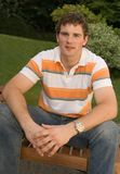 Knappe jonge mens Royalty-vrije Stock Afbeelding