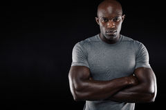 Knappe Jonge Mens in Sportkleding Royalty-vrije Stock Afbeeldingen