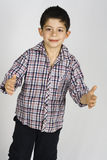 Knappe jongen Royalty-vrije Stock Afbeelding