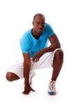 Knappe sportieve kerel Stock Foto's