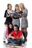 Knappe studenten. Royalty-vrije Stock Foto