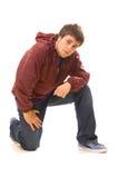 Knappe tiener Stock Foto's