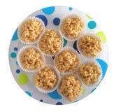 Knapperige cakes Stock Foto's