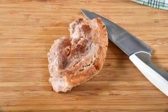 Knapperige geroosterde varkensvleesbellyl royalty-vrije stock foto