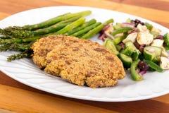 Knapperige quinoa pasteitjes Stock Fotografie