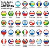 knappflaggarengöringsduk royaltyfri illustrationer