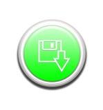 knappnedladdninggreen Arkivbild