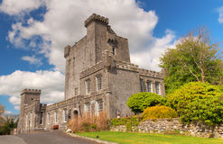 Knappogue Castle in Co. Clare - Ireland Royalty Free Stock Images