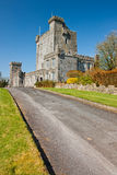 Knappogue Castle in Co. Clare - Ireland. Royalty Free Stock Images