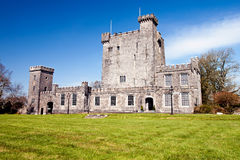 Knappogue Castle in Co. Clare - Ireland. Stock Photo
