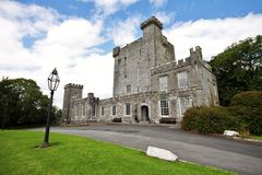 Knappogue castle, ireland Royalty Free Stock Images