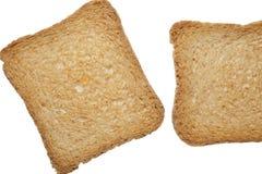 Knapriga rostade bröd arkivbilder