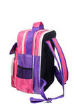 Knapsack of the schoolboy Royalty Free Stock Images