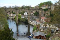 Knaresborough Stock Foto