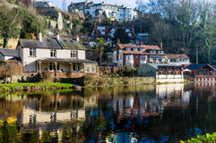 Knaresborough Stockfoto
