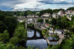 Knaresborough Förenade kungariket Arkivfoto
