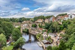 Knaresborough no condado de Yorkshire Imagens de Stock