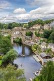 Knaresborough no condado de Yorkshire Imagem de Stock