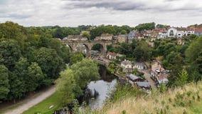 Knaresborough, North Yorkshire, Regno Unito immagini stock libere da diritti