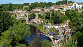 Knaresborough with the Viaduct Stock Photo