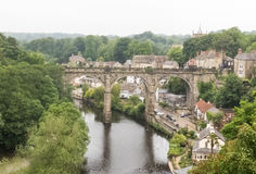 Knaresborough-Viadukt Lizenzfreie Stockfotos
