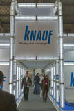 Knauf Germany company booth Royalty Free Stock Photography