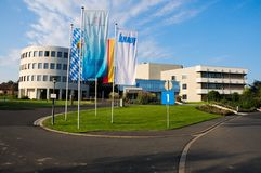 Knauf Headquarters Royalty Free Stock Images