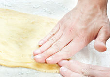 Kneading Stock Photography