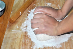 Free Kneading Dough Stock Images - 20067014