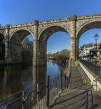 Knearsborough - North Yorkshire - het Verenigd Koninkrijk stock fotografie
