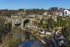 Knearsborough - North Yorkshire - Reino Unido imagem de stock