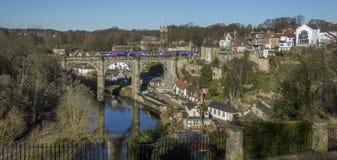Knearsborough - North Yorkshire - Reino Unido imagens de stock royalty free