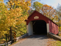 Knechts Covered Bridge 2 Stock Photos