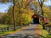Knechts Covered Bridge 3 Royalty Free Stock Image
