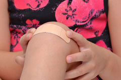 Knee Bandage Stock Images