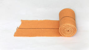 Knee bandage for joint pain relief stock photography