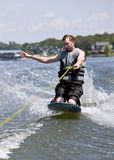 Knee Boarding Stock Image
