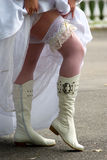 Knee-boots Royalty Free Stock Photos