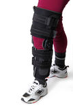 Knee brace Stock Images
