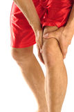Knee injury Stock Photo