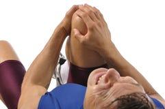 Knee injury Stock Photos