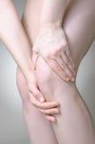 Knee pain Stock Photos