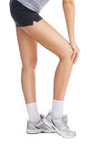 Knee Pain Stock Photo