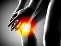 Knee pain Royalty Free Stock Photo