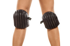 Knee protection pads Royalty Free Stock Photography