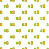 Knee protector and elbow pad pattern cartoon style Stock Photography